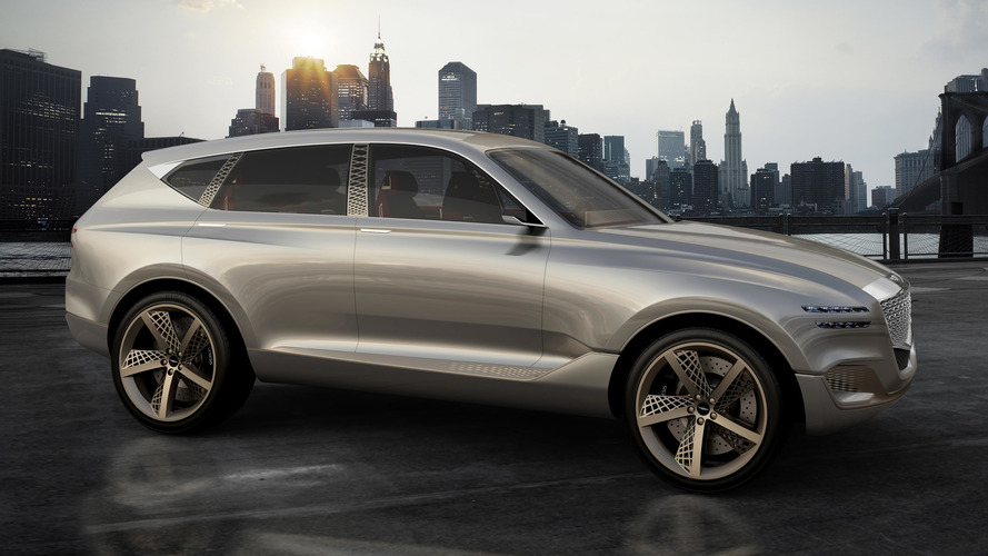 Genesis GV80 Fuel Cell Concept Features 'Athletic Elegance'