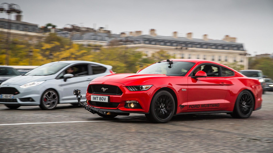 Ford Mustang recreates famous high-speed blast through Paris in VR