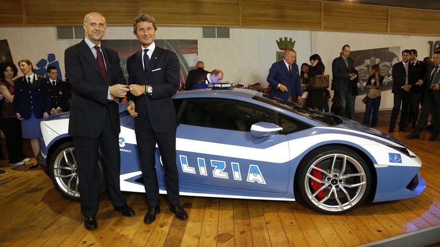 Lamborghini Huracan LP 610-4 Polizia revealed for the Italian State Police