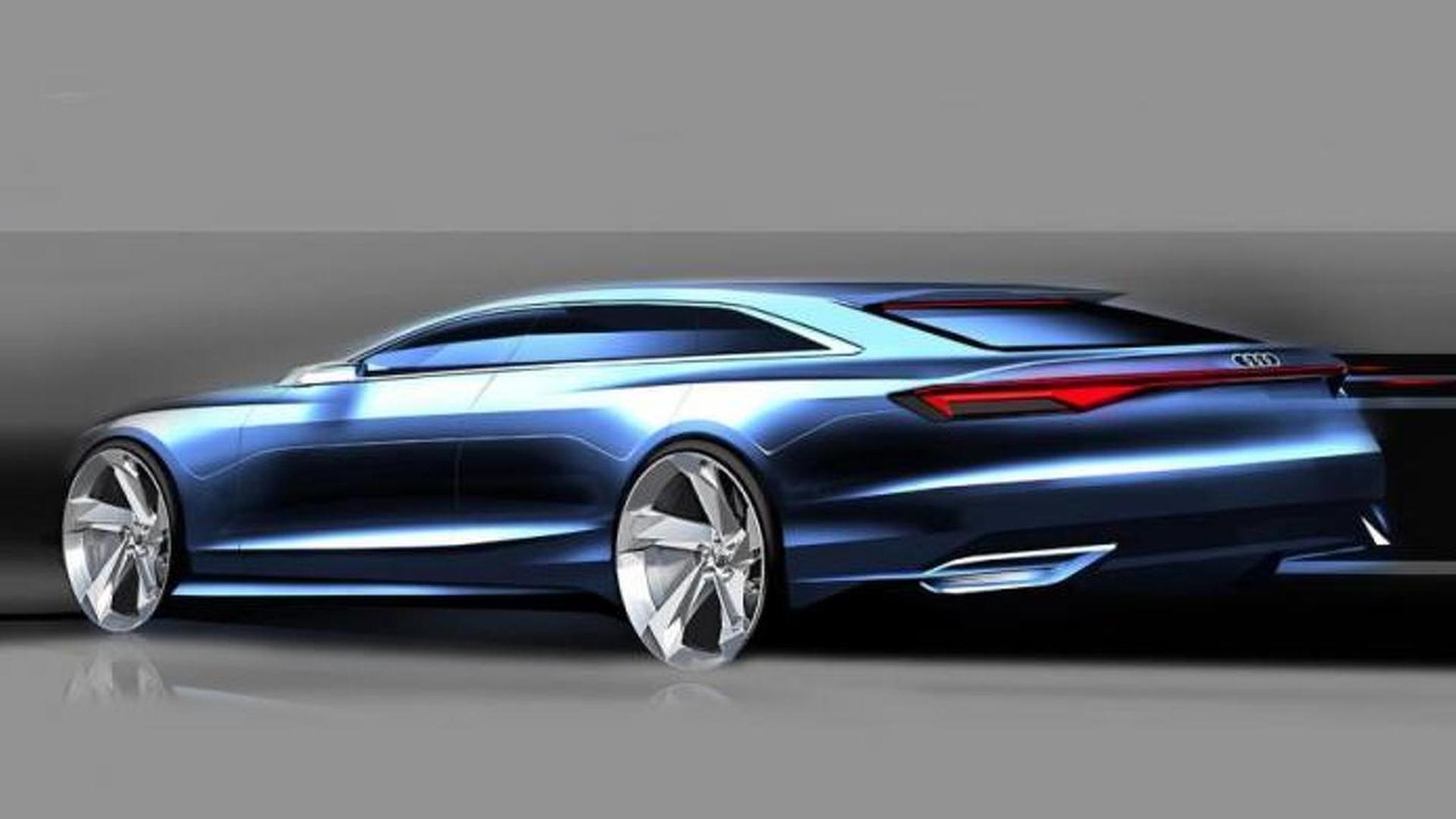 Скетч Audi Prologue Avant