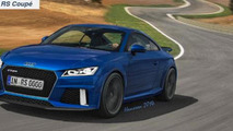 WCF reader imagines Audi TT RS Coupe