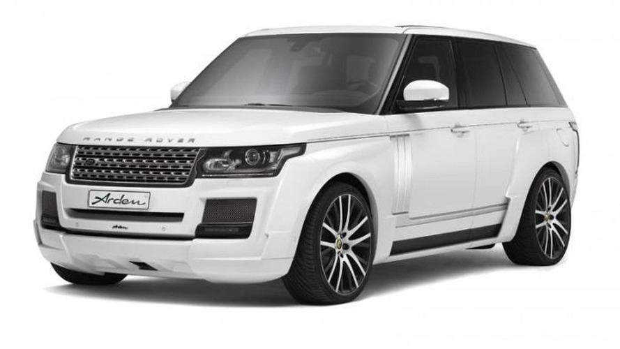 Range Rover upgraded by Arden to 650 HP