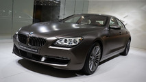 2012 BMW 6-series Gran Coupe world debut at the 2012 Geneva Motor Show