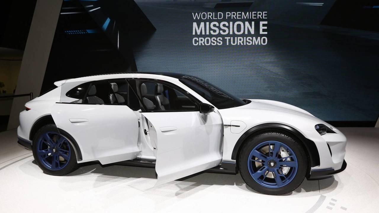 Porsche Mission E Cross Turismo konsepti - 2018 Cenevre Otomobil Fuarı