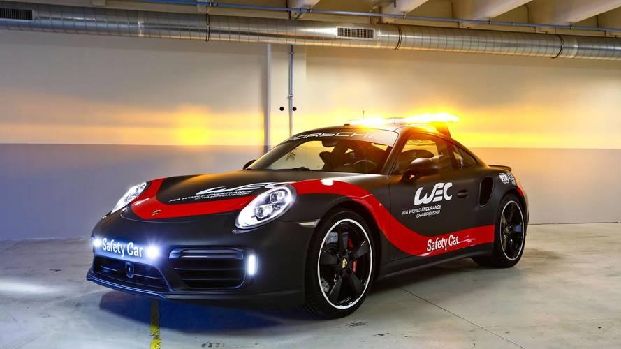 Porsche 911 Turbo - WEC biztonsági autó