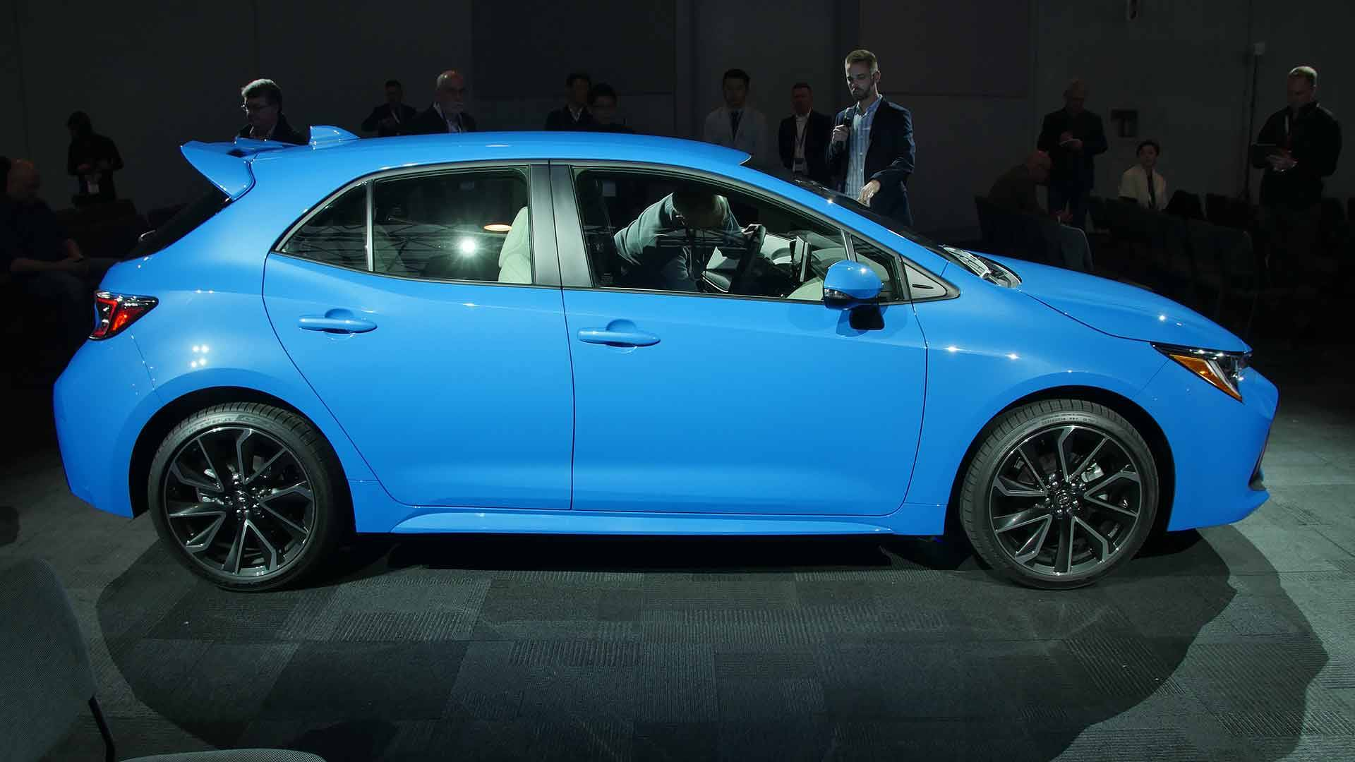 Vwvortex Com 2019 Toyota Corolla Hatchback Revealed Riding On
