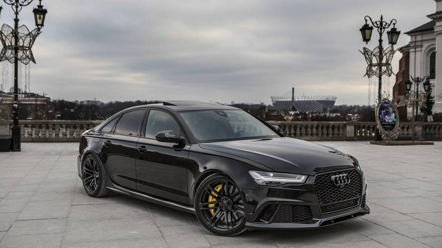 audi hasn 39 t made an rs6 sedan this generation yet one exists. Black Bedroom Furniture Sets. Home Design Ideas