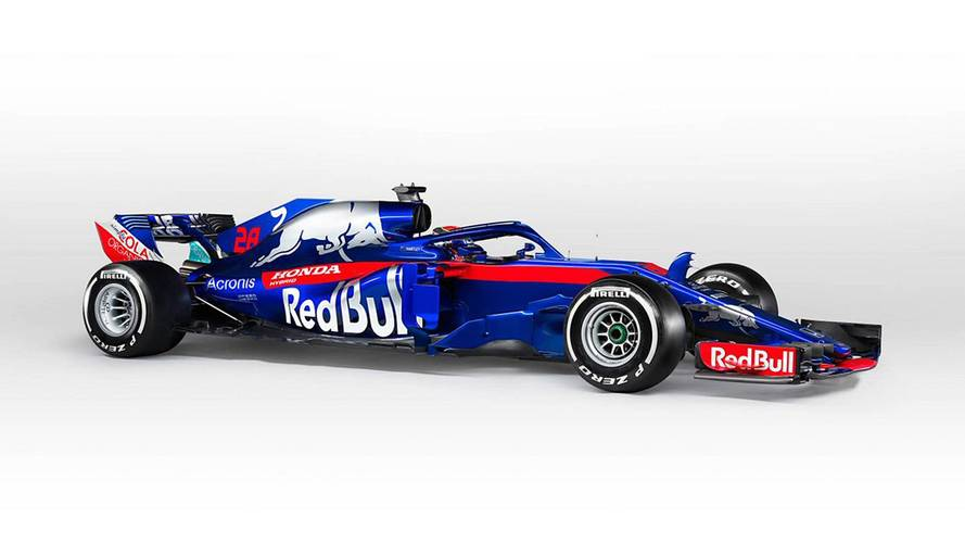 Toro Rosso and Red Bull take wraps off their 2018 F1 cars