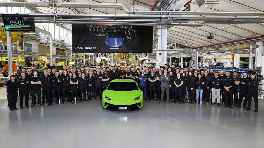 Lamborghini a produit 10'000 Huracán en seulement quatre ans