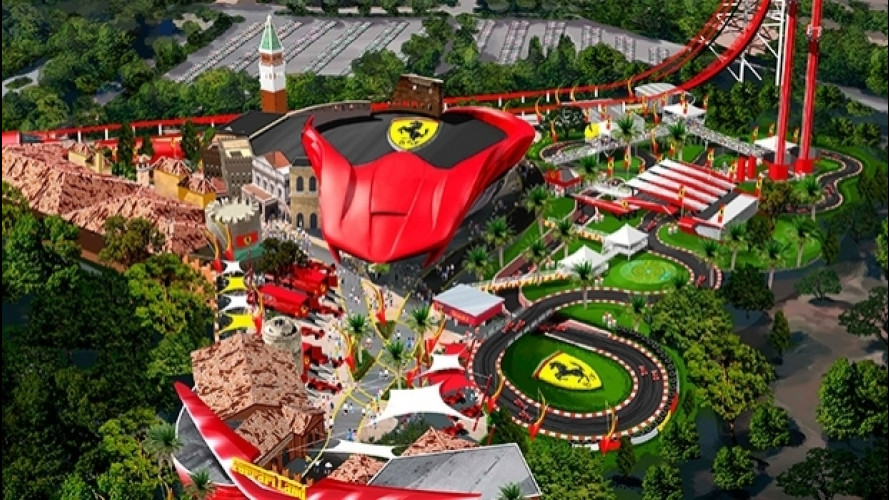 Ferrari Land, incendio nel parco spagnolo in costruzione