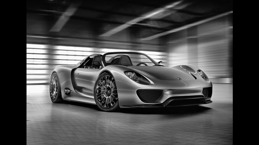 Via libera alla Porsche 918 Spyder