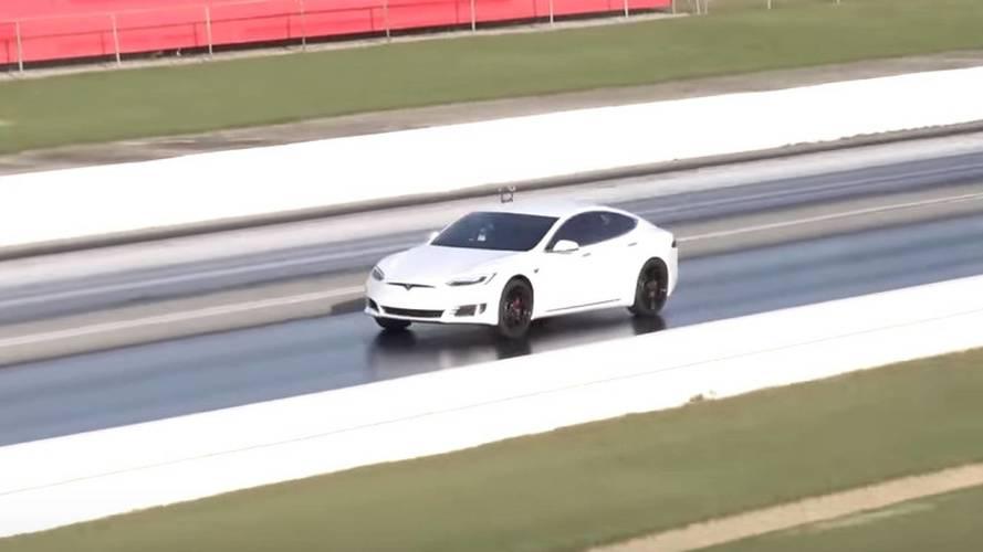 Tesla Model S P100D Sets New 1/4-Mile Record