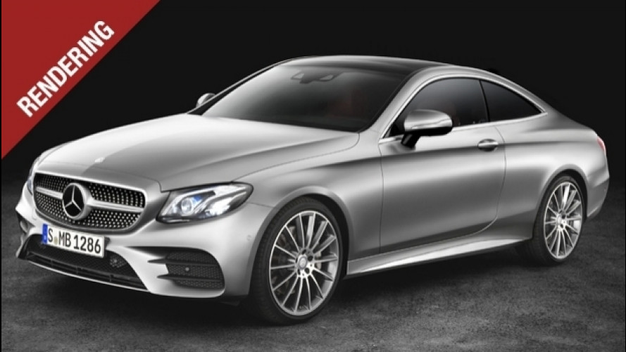 Nuova Mercedes Classe E Coupé, pronta a stupire