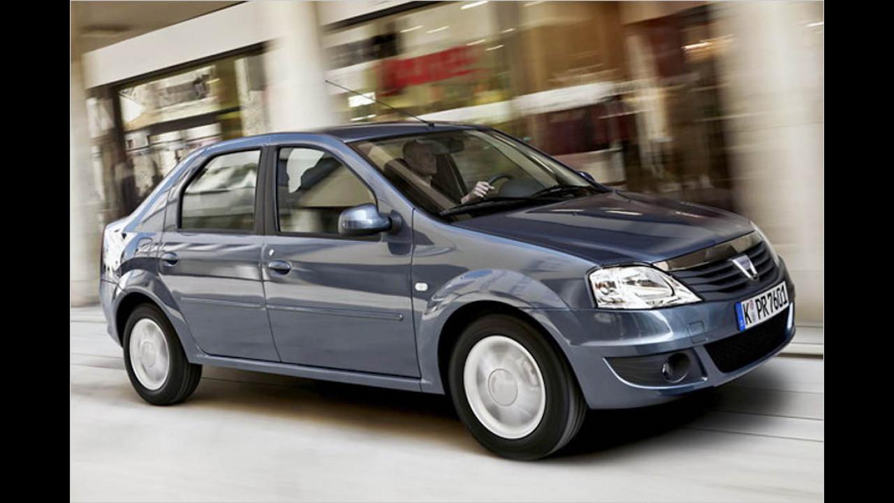 Die schlechtesten Autos bis 9 Jahre: Dacia Logan