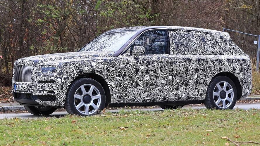 2019 Rolls-Royce Cullinan SUV Spied Looking Sumptuous