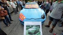 Hyundai Tiburon-based Lamborghini Aventador replica 23.9.2013