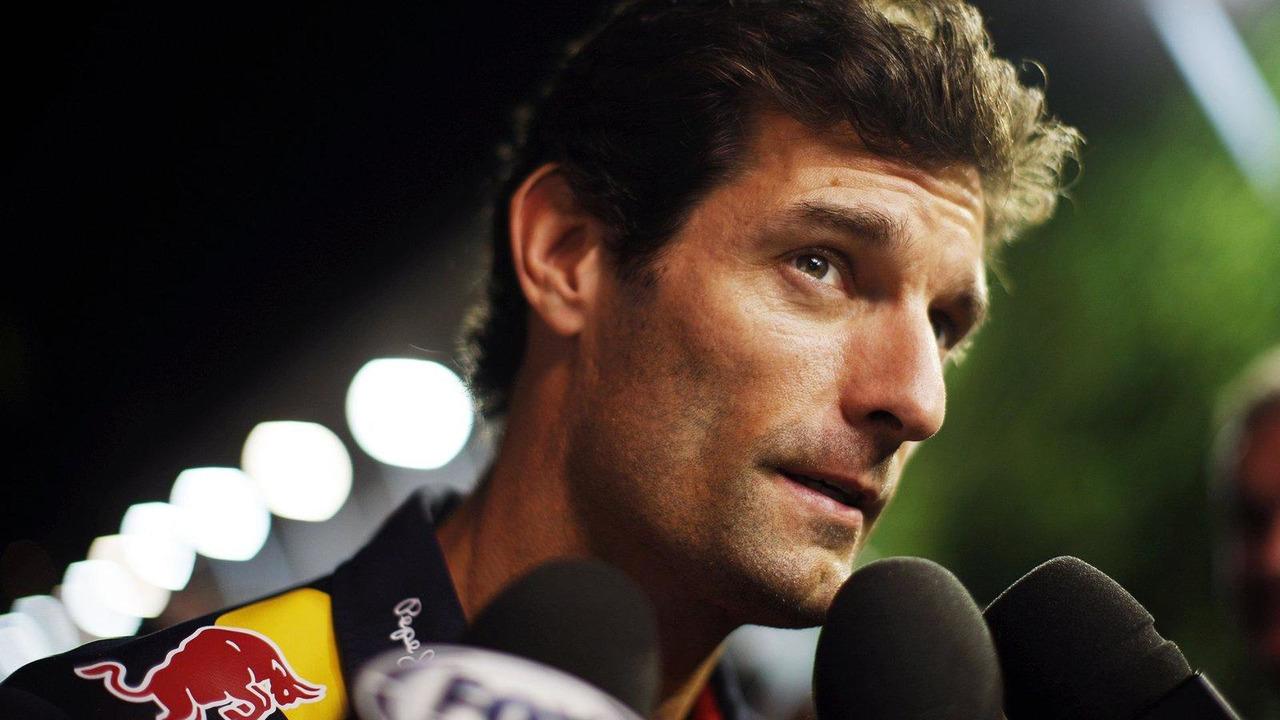 Mark Webber 19.09.2013 Singapore Grand Prix