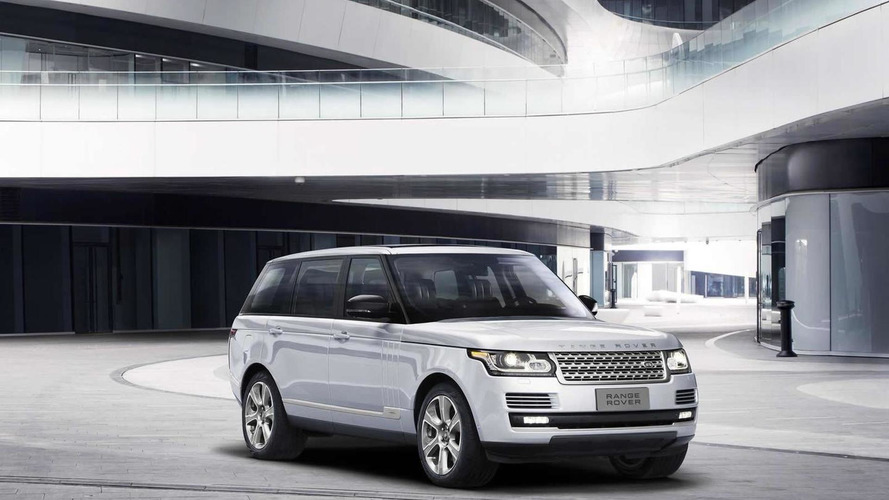 Land Rover builds a Range Rover Hybrid LWB for the Queen