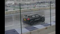 La Nissan JUke R sulla pista della Motor Show 2012