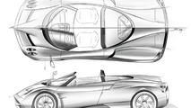 Pagani Huayra Roadster gets rendered