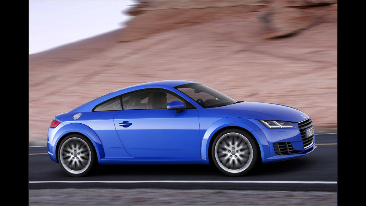 Platz 3: Audi TT, 708 Neuzulassungen