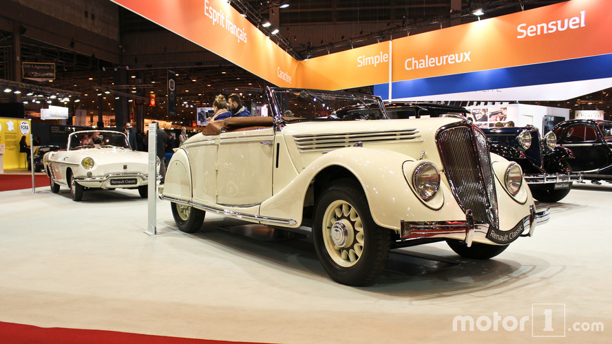 PHOTOS - Renault au Salon Rétromobile 2017