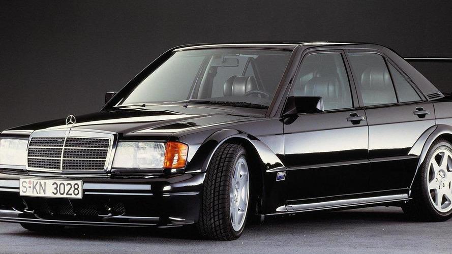 Mercedes celebrates the 25th anniversary of the 190 E Evo II