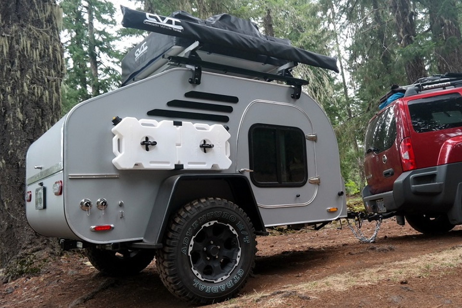 The Rugged Terradrop Off Road Trailer Is Up For Any Adventure