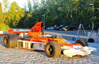 Screening 'Rush' with Highcroft Racing