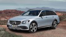 Mercedes E-Class All Terrain speculative render