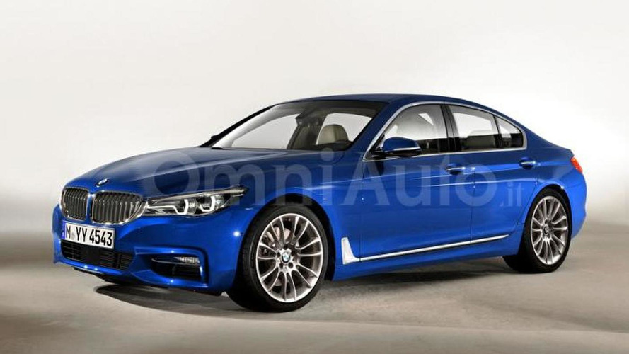 2017 BMW 5-Series render
