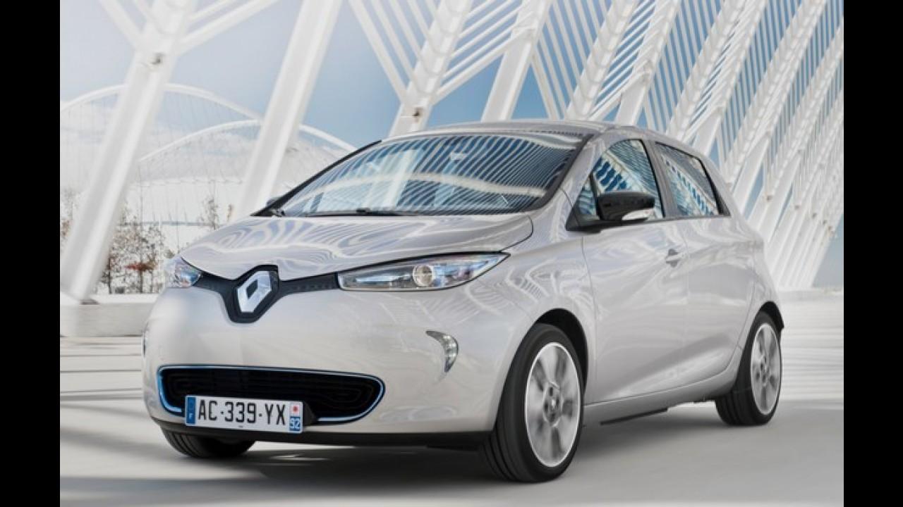 Renault Zoe alcança 5 estrelas no EuroNCAP