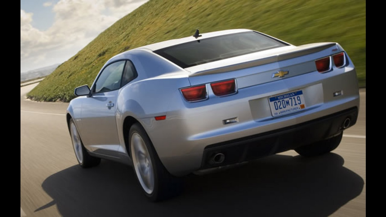 GM convoca Camaro para recall por problema no airbag