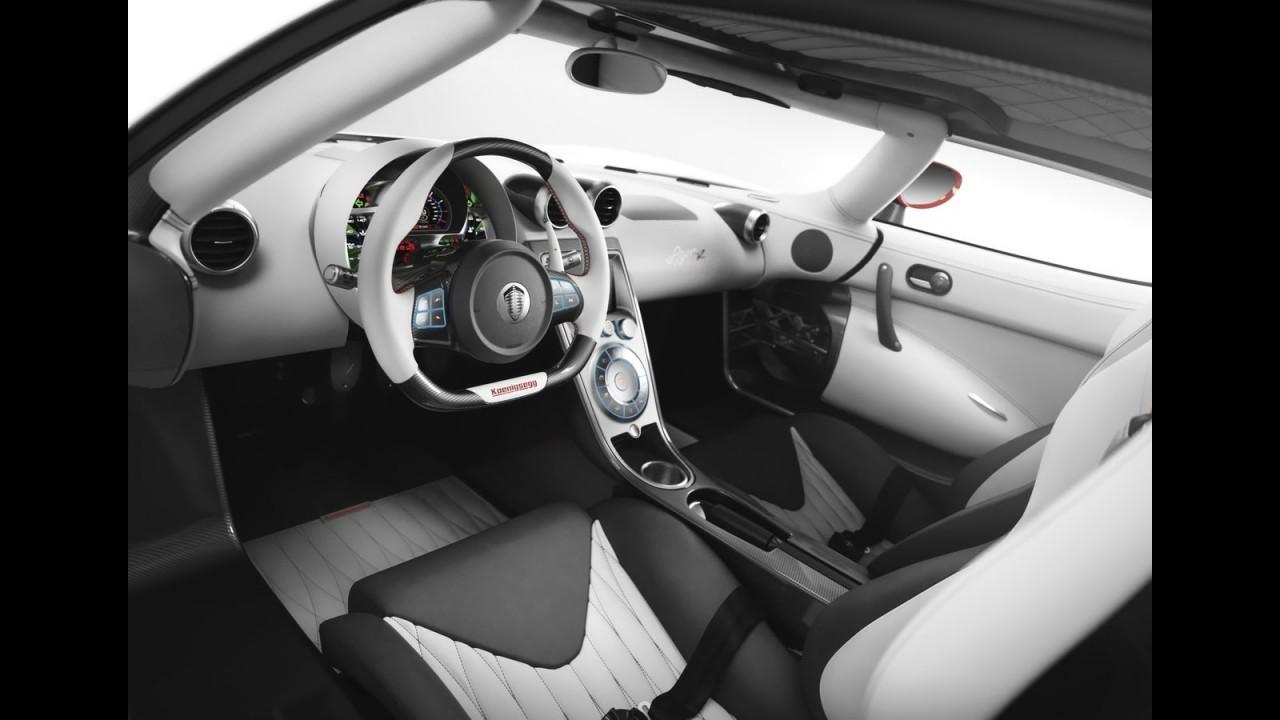 Koenigsegg Agera R: motor V8 de 1.115 cv com Etanol E85