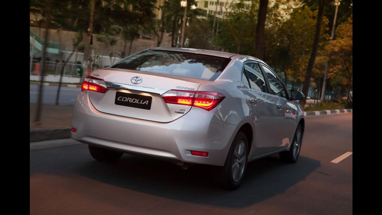Oficial: Novo Corolla 2015 tem preço inicial de R$ 66.570 - veja tabela completa
