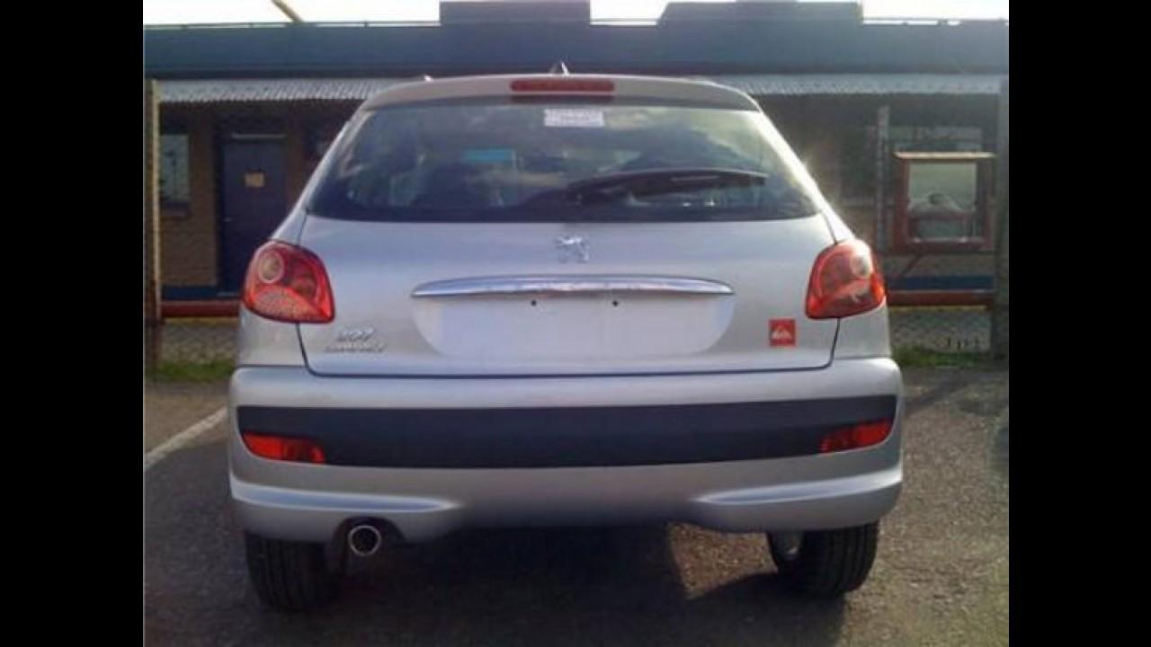 Flagra: Peugeot 207 Quicksilver será lançado em janeiro na Argentina