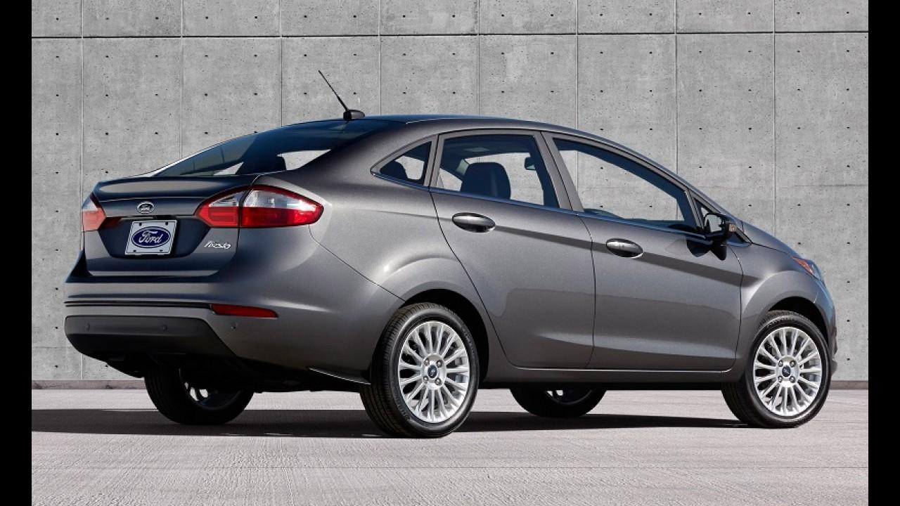 Mais caro: New Fiesta parte de R$ 41.790 - reajuste médio é de R$ 2 mil