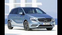 Nova Mercedes-Benz Classe B 2012 aparece em primeira imagem oficial