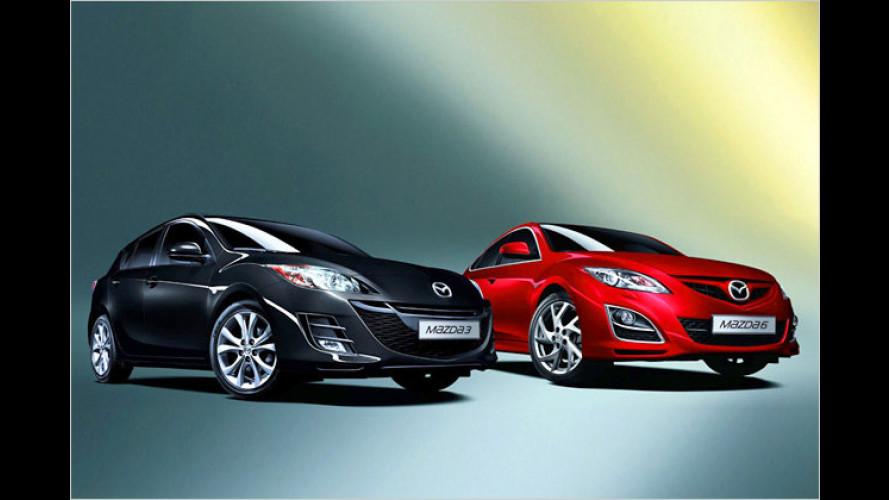 Geburtstags-Sparen: Mazda 3 und 6 als ,Edition 125