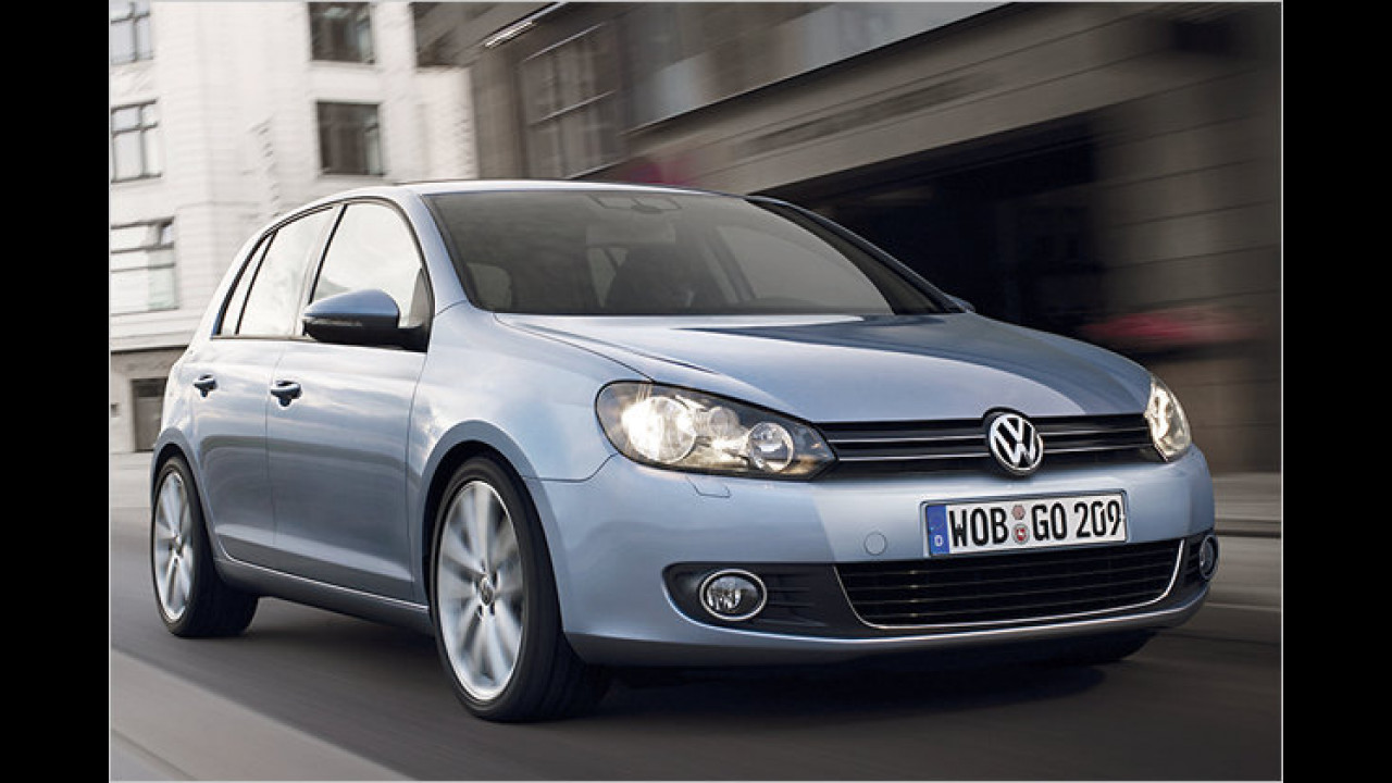 VW Golf 1.6 TDI BlueMotion Technology Trendline