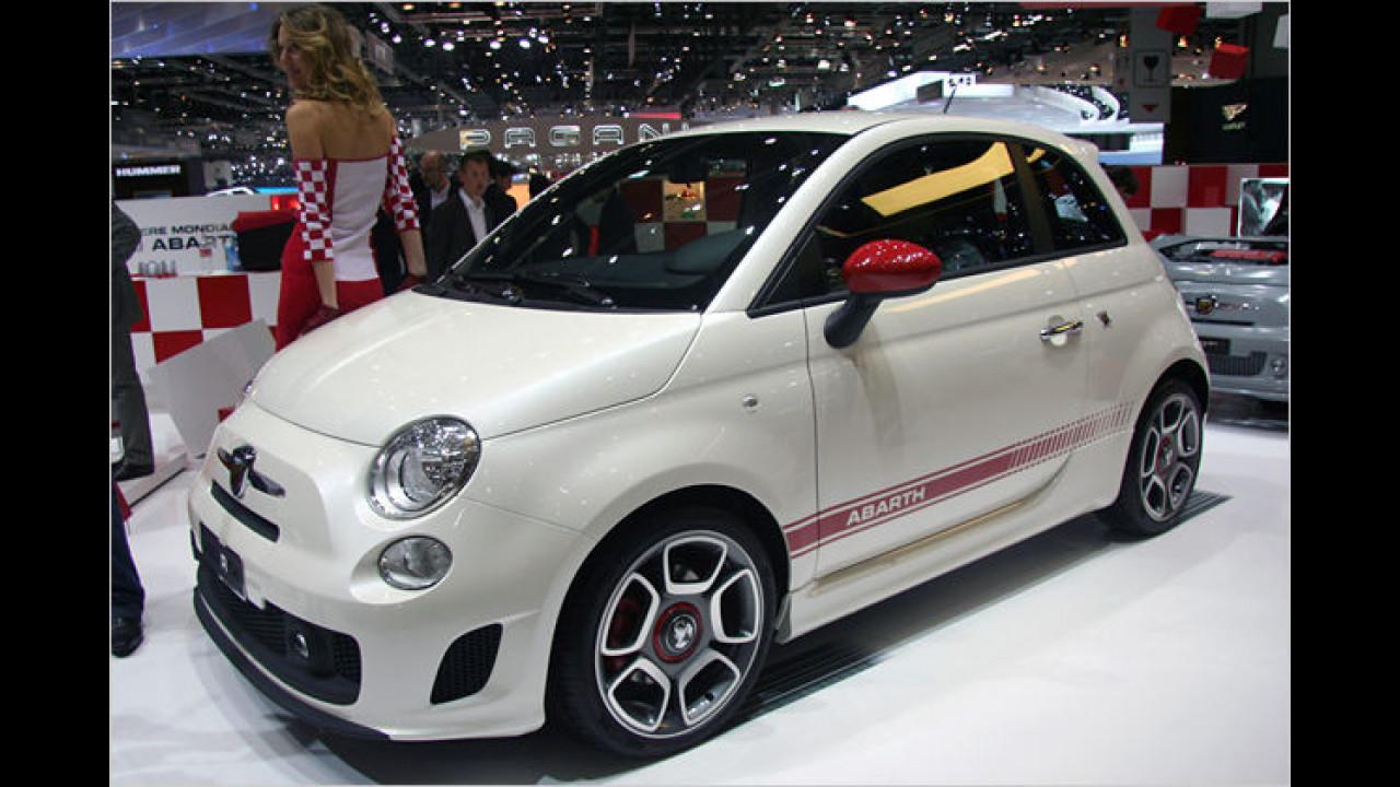 Fiat 500 Abarth: Die Sportversion wird von einem 135-PS-Benziner angetrieben