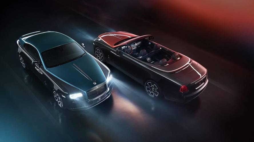 Rolls-Royce présente les Wraith et Dawn Adamas