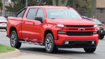 2019 Chevrolet Silverado RST Spy Photos