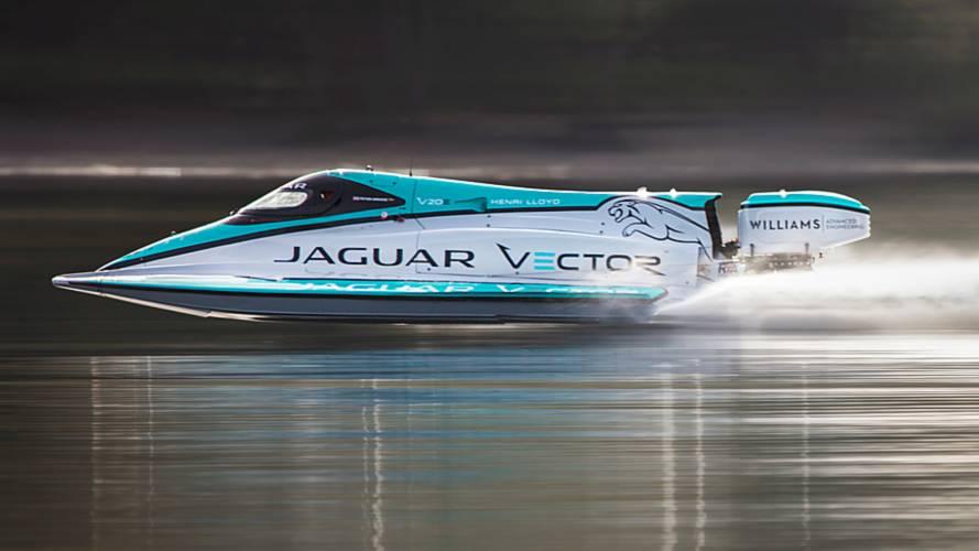 Watch Electric Jaguar Powerboat Set New World Record