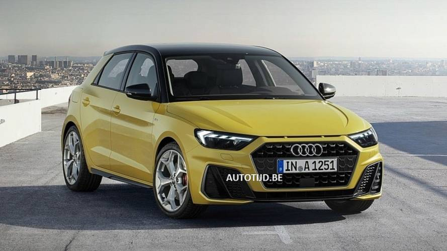 2019 Audi A1 Sportback S Line Leak Shows The Snazzy Supermini