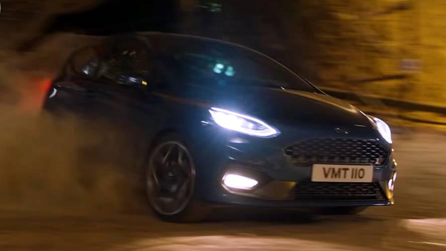 Ford, yeni Fiesta ST'yi yerin altına indirdi