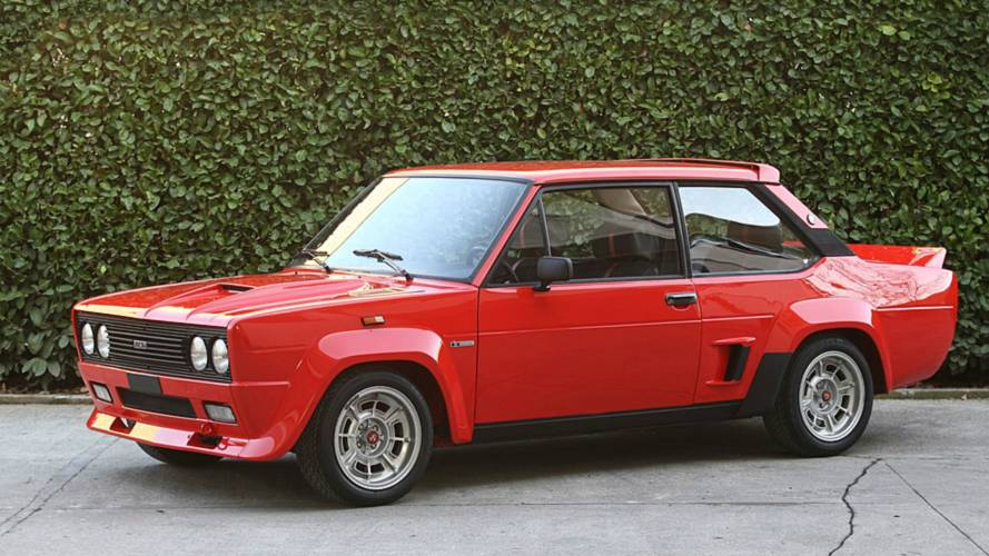 Clásicos legendarios: Fiat 131 Abarth Rally de 1976