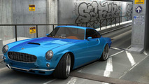 Mattias Vöx Volvo P1800 rendered by Vizualtech