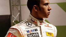Lewis Hamiltonin vahaversio.