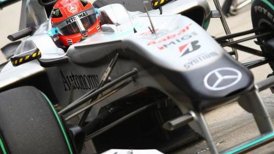 Mercedes changing 2010 car to suit Schumacher
